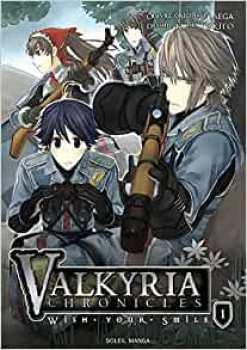9782302017252 Manga Valkyria Chronicles Wish Your Smile Vol 1BD