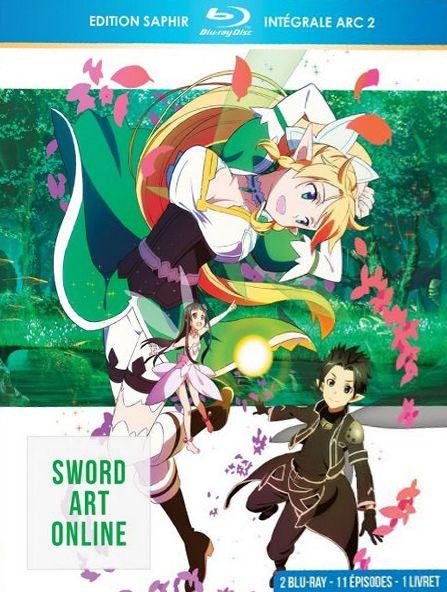 3760000571654 Sword Art Online Edition Saphir Integrale ARC 2 FR BR