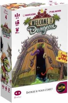 3760175512339 Jeu De Cartes Welcome To The Dungeon (IELLO)