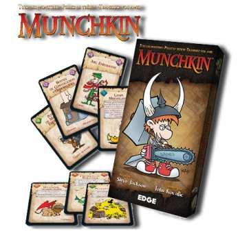 8435407602342 Munchkin Jeu de carte de Steven Jackson Médiéval, Fantastique