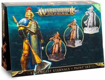 5011921102600 Figurine Game Workshop - Stormcast Eternals Paint Set - Warhammer Citadel