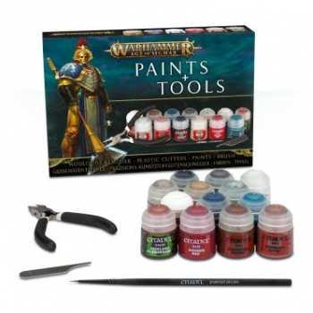 5011921101245 Kit d'outillage -  Age Of Sigmar Peinture + Outils - Warhammer Citadel