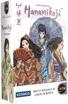3760175515064 Jeu De Cartes Hanamikoji ( Art Et Elegance Au Coeur De Kyoto)