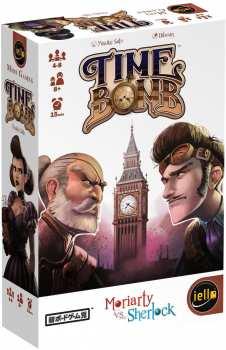 3760175513428 Jeu De Cartes Time Bomb ( Moriarty Vs Sherlock)