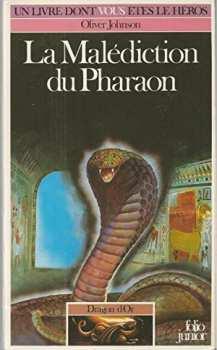 9782070333332 La malediction du pharaon - dragon d or 4 - livre dont vous etes le heros 333