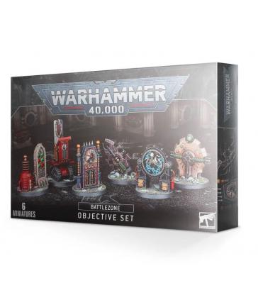 5011921133871 Figurine Game Workshop - Warhammer 40.000 Set D'Objectifs De Zone De Bataille