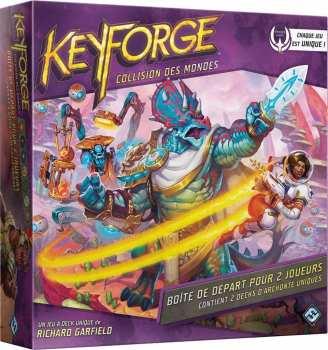 8435407629189 Keyforge Collision Des Mondes - Boite 2 Joueurs FR
