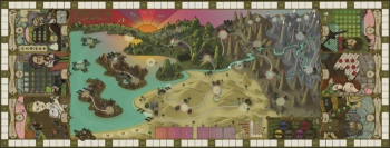 4627119440884 Tapis De Jeux Feudum - Playmat Board (neoprene)