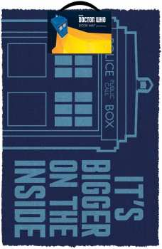 5050293850658 Paillason Doctor Who, Tardis Doormat