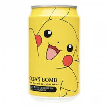 4712966540099 Boisson Ocean bomb Pokémon Pika Pomme 330 ml
