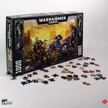 3760226377313 WARHAMMER 40K - GULLIMAN VS BLACK LEGION - PUZZLE 1000P 48X68CM