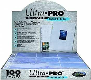 5510107034 Feuille de rangement 9 cartes Ultra Pro Transparente