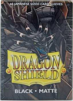 5706569111021 Dragon Shield Sleeves Small x60 Matte Noir