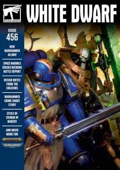 5510107176 Magazine Warhammer- White Dwarf - 456