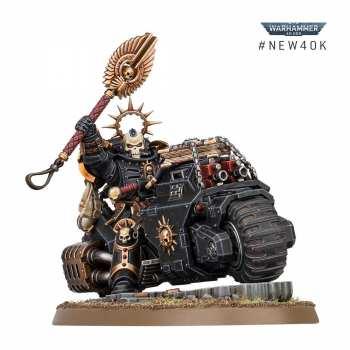 5011921135202 Warhammer 40K SPACE MARINES CHAPELAIN PRIMARIS A MOTO