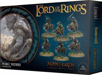 5011921109340 Lord Of The Ring - Seigneur Des Anneaux - Warg Riders - Middle-Earth SBG