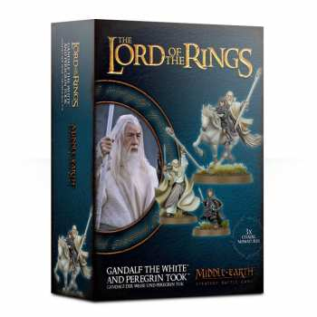 5011921111312 Lord Of The Ring - Gandalf The White And Peregrin Took - Middle-Earth SBG