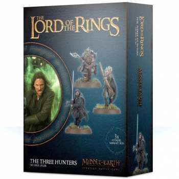 5011921118601 Lord Of The Ring The Three Hunters Middle-Earth Strategy Battle Game