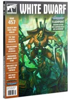 5510107299 Magazine Warhammer - White Dwarf - 457