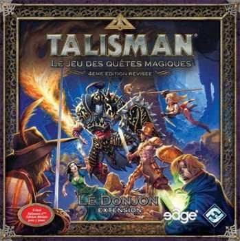 3760146647381 Talisman Jeu de Société Le Donjon Extension FR Fantastique Medieval Magie
