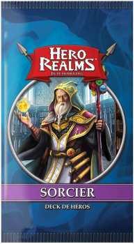 3760175514890 Jeu de cartes Hero Realms - Deck de heros - Sorcier Iello