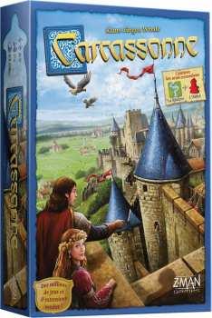 8435407619968 Carcassonne - Jeu De Tuiles