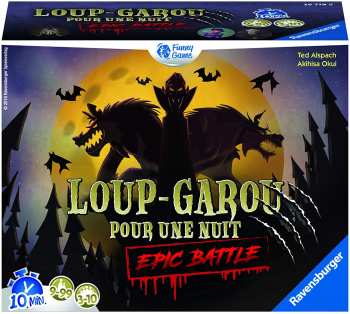 4005556267798 Jeu de Société Loup Garou Epic Battle FR Jeu d'ambiance