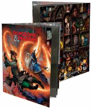 74427853051 Dungeon and Dragons PORTFOLIO PERSONNAGE WIZARD