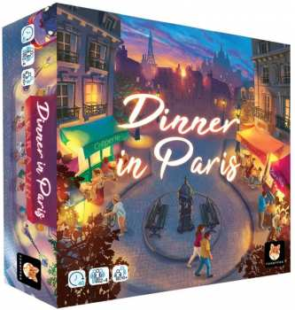 3616450000018 Dinner In Paris - Jeu De Societe - Funnyfox