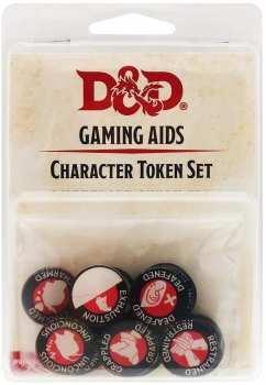 9420020226135 Donjons Et Dragon - Jetons D'etat (Tokens) - Gaming Aids