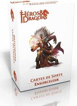 3760245550292 Heros Et Dragons - Cartes De Sort Ensorceleur - Casus Belli