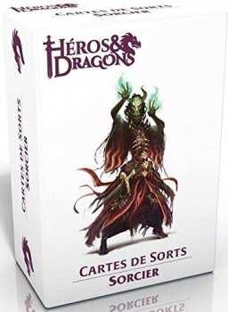3760245550308 Heros Et Dragons - Cartes De Sort Sorcier - Casus Belli
