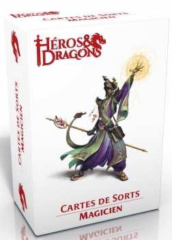 3760245550346 Heros Et Dragons - Cartes De Sort Magicien - Casus Belli