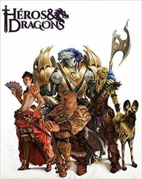 9782363283191 Heros Et Dragons - Livre Dossier De Personnage - Casus Belli
