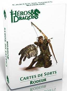 3760245550278 Heros Et Dragons - Cartes De Sort Rodeur - Casus Belli