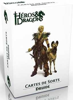 3760245550322 Heros Et Dragons - Cartes De Sort Druide - Casus Belli