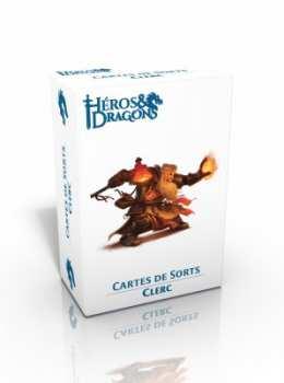 3760245550339 Heros Et Dragons - Cartes De Sort Clerc - Casus Belli