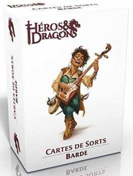 3760245550315 Heros Et Dragons - Cartes De Sort Barde - Casus Belli