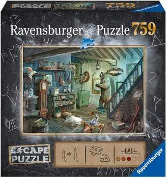 4005556164356 Puzzle Escape Room - Dans La Cave De L'effroi - Ravensburger