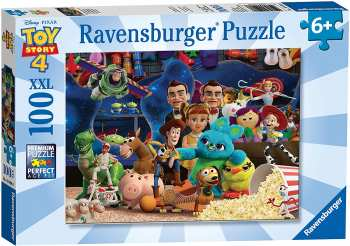 4005556104086 Puzzle Toy Story 4 100 Pieces XXL - Ravensburger