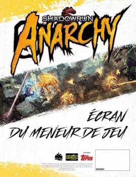 9782363285508 Shadowrun Anarchy Ecran De Maitre De Jeu - Blackbook -