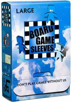 5706569104221 Board Game Sleeves Large 50x  59x92mm