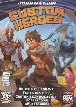 3558380056782 Custom Heroes - Jeu De Societe - Big In Japan AEG