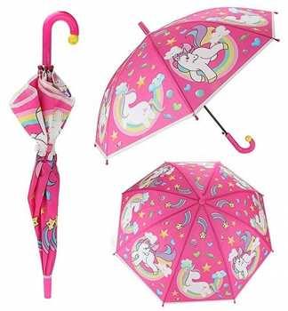 8719904680608 Parapluie Automatique Enfant Licorne Magique 80 CM