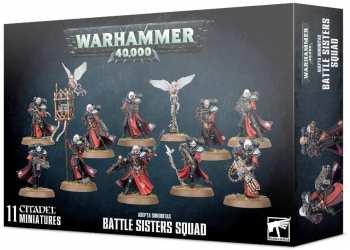 5011921131167 Figurine Warhammer 40000 Battle Sisters Squad Adepta Sorroritas