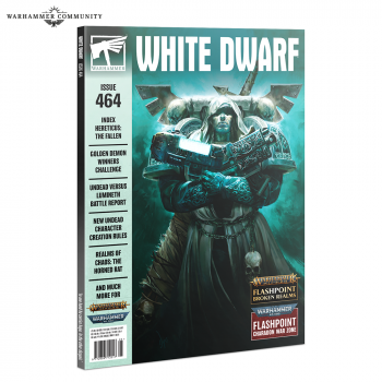 5510108409 Magazine Warhammer- White Dwarf - 464
