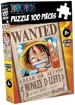 3700789280156 Puzzle One Piece Wanted Luffy 100P