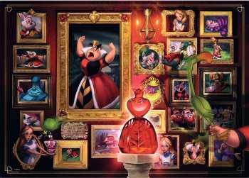 4005556150267 Puzzle 1000pcs Disney Villainous Reine De Coeur