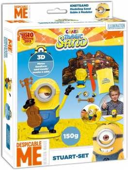 4260278557835 Set Stuarts Les Minions Sable Modeleur 150G