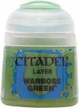 5011921027286 Peinture Citadel Couche ( Warboss Green ) 12ml